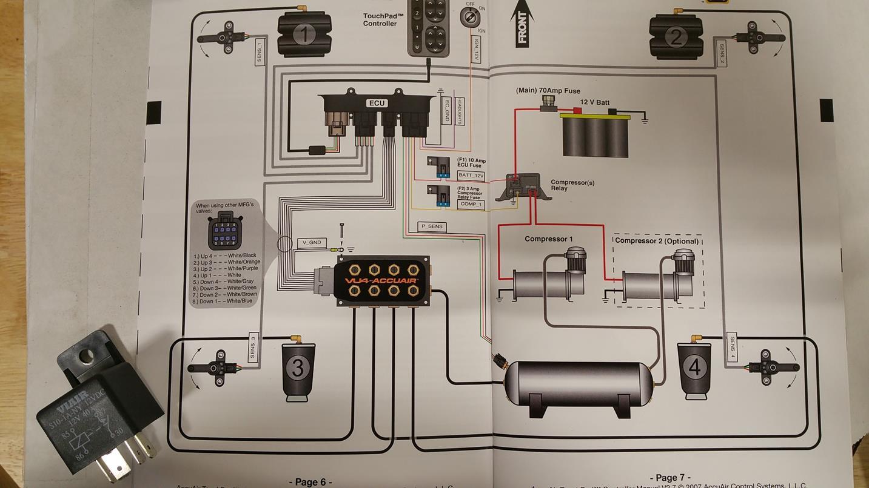 Dual Compressor Relay Wiring? | LayItLow.com Lowrider ForumsLayItLow.com Lowrider Forums
