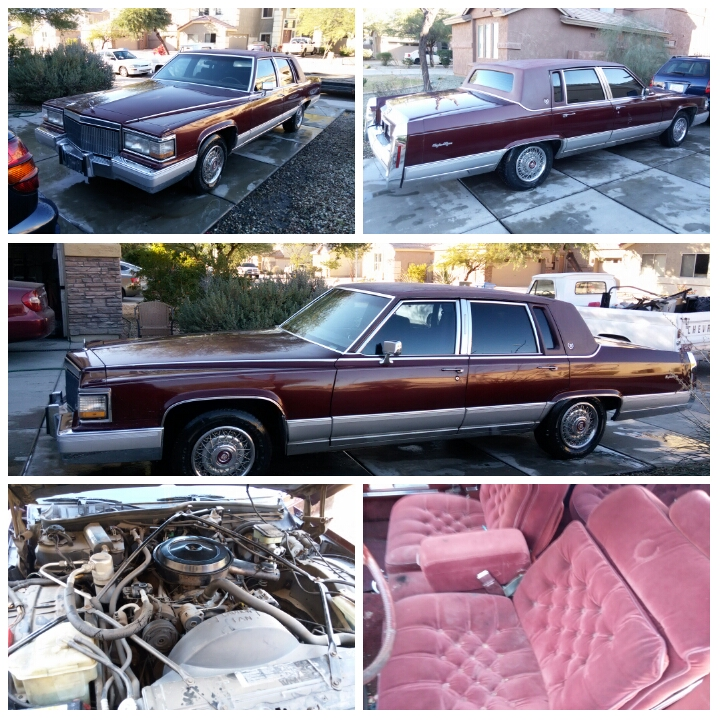 1992 Cadillac Fleetwood Brougham (square Body