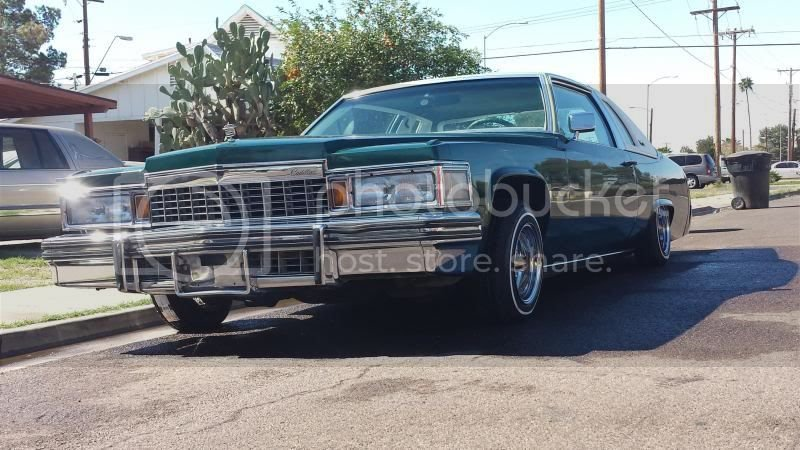 Classic 1977 Cadillac Coupe Deville Lowrider For Sale ...